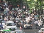 حامیان میرحسین موسوی - بالاتر از پارکوی
