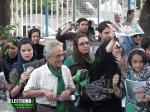 حامیان میرحسین موسوی - بالاتر از پارک ملت