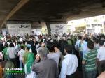 حامیان میرحسین موسوی - زیر پل پارکوی